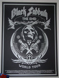 Shepard Fairey Black Sabbath Poster The End 2016 Fall Tour