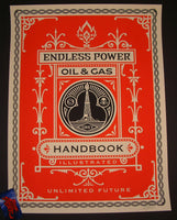 Shepard Fairey Endless Power Handbook Art Print 2015