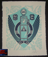 Shepard Fairey Endless Power Paris Print 2016