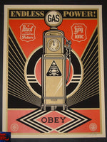 Shepard Fairey Endless Power Poster 2013
