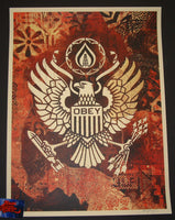 Shepard Fairey Keep It Underground Art Print 2015