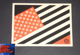 Shepard Fairey Mayday Flag Art Print Mini 2010