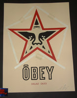 Shepard Fairey Salad Days Art Print Obey 2018