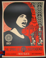 Shepard Fairey Spirit of Independence Art Print 2017 Nice Slice