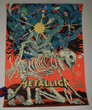Shian Ng Metallica Grand Forks VIP Poster Artist Proof 2018