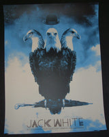 Silent Giants Jack White Poster Detroit Evening Concert 2012 Artist Edition S/N