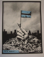 Silent Giants Jack White Poster Detroit 2014 Artist Edition