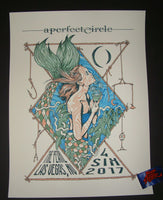 Spencer Olsen A Perfect Circle Poster Las Vegas 2017 Artist Edition