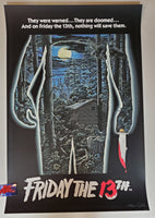 Spiros Angelikas Friday the 13th Movie Poster Glows in the Dark 2018
