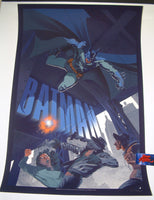 Stan & Vince I Am The Night I Am Vengeance Batman Poster 2015 Artist Edition