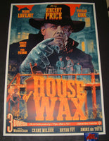 Stan and Vince House of Wax Movie Poster 2019 Vincent Price