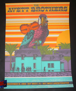 Status Serigraph Avett Brothers Key West Poster Night 1 Artist Edition 2018