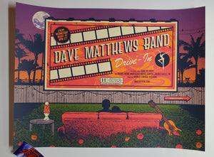 Status Serigraph Dave Matthews Band Noblesville Poster Artist Edition Drive In 2020