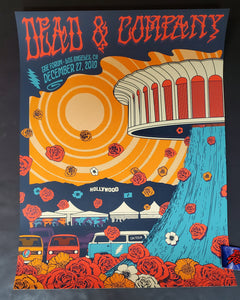 Status Serigraph Dead & Company Los Angeles Poster Artist Edition 2019