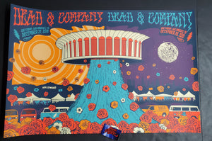Status Serigraph Dead & Company Los Angeles Poster Uncut Artist Edition 2019