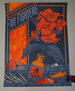 Status Serigraph Foo Fighters Atlanta Poster Artist Edition 2019