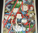 Dark Inker South Park The Avengers Movie Poster 2015