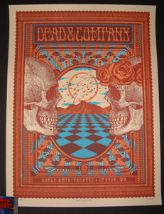 Subject Matter Studio Dead & Company Poster George Gorge Artist Edition 2018