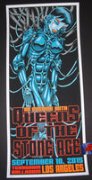 TAZ Queens of the Stone Age Poster Los Angeles 2015