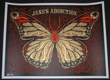 Todd Slater Jane's Addiction Poster Raleigh 2012 Artist Edition S/N