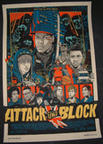 Tyler Stout Attack The Block Movie Poster Mondo 2013 S/N AP
