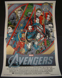 Tyler Stout The Avengers Movie Poster Mondo 2012