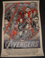 Tyler Stout The Avengers Movie Poster Variant Mondo 2012