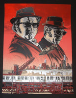 Tim Doyle Blues Brothers Movie Art Print Red Variant 2014