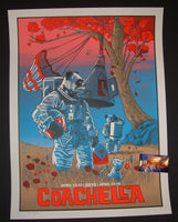 Tim Doyle Coachella Music Festival Poster Indio 2015 Artist Proof
