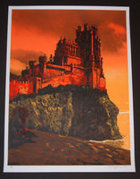 Tim Doyle Red Keep Game of Thrones Art Print 2014 Artist Proof