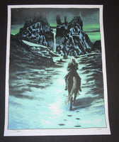Tim Doyle Game of Thrones White Walker Gift for the Night's King Art Print 2014