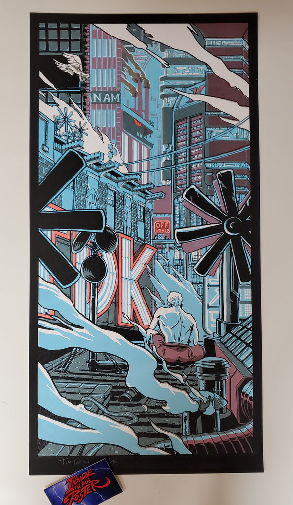 Tim Doyle Blade Runner Movie Art Print 2010