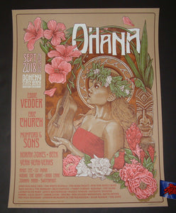Timothy Pittides Ohana Music Festival Dana Point Poster Artist Edition 2018