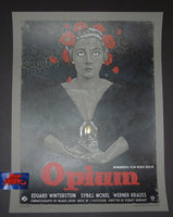 Timothy Pittides Opium Movie Poster Variant 2016 Vices