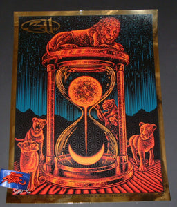 Todd Slater 311 Poster Tempe Gold Mirror Foil Variant 2017 Artist Edition