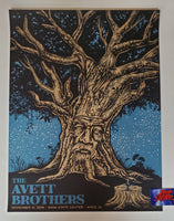 Todd Slater Avett Brothers Ames Iowa Poster Artist Edition 2019