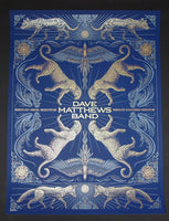 Todd Slater Dave Matthews Band Poster Mexico City 2015 Artist Edition
