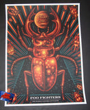 Todd Slater Foo Fighters Austin Poster Artist Edition 2018