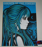 Todd Slater Ghosts of the Forest Albany Poster Artist Edition 2019