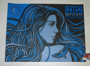 Todd Slater Nine Inch Nails Brooklyn New York Poster 2018 Artist Edition
