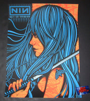 Todd Slater Nine Inch Nails Dallas Poster Artist Edition 2018