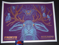 Todd Slater Primus Poster Cooperstown 2015 Artist Edition