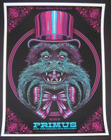 Todd Slater Primus Poster Los Angeles 2014 Artist Edition