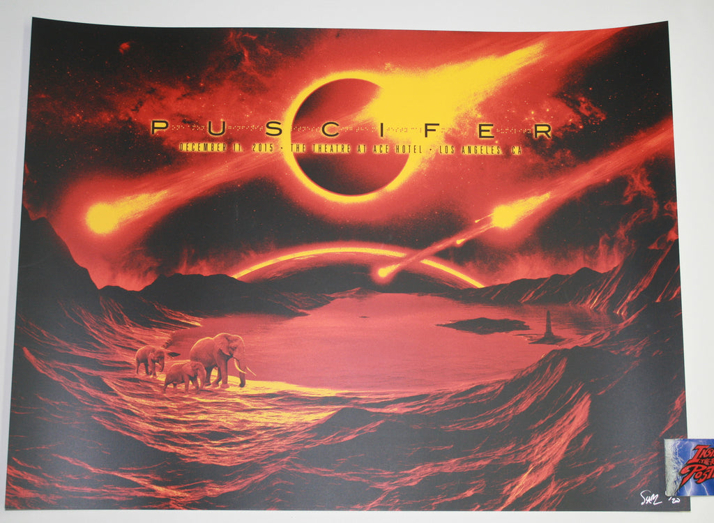 Todd Slater Puscifer Poster Los Angeles 2015 Artist Edition
