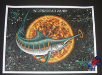 Todd Slater Widespread Panic Poster St Augustine 2017 Artist Edition