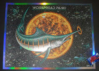 Todd Slater Widespread Panic Poster St Augustine Foil Variant 2017 Artist Edition
