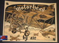 Tom Huck Motorhead By Air Poster 2017