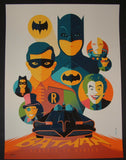 Tom Whalen Batman Classic TV Series Poster 2013 BIFF BOOM Batmobile