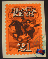 Tom Whalen Black Keys Kansas City Poster 2014 Artist Edition
