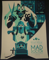 Tom Whalen The Mad Doctor Disney Movie Poster Mondo 2011 Mickey Mouse